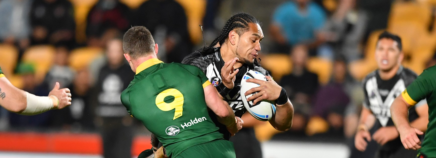 Taupau gets one over his team-mates in Test win