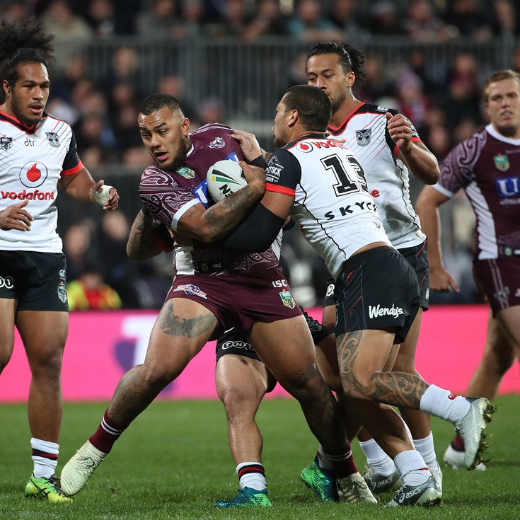 Manly lose 34-14 to Warriors