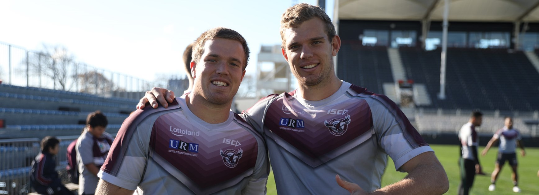 Trbojevic brothers set to play the Warriors