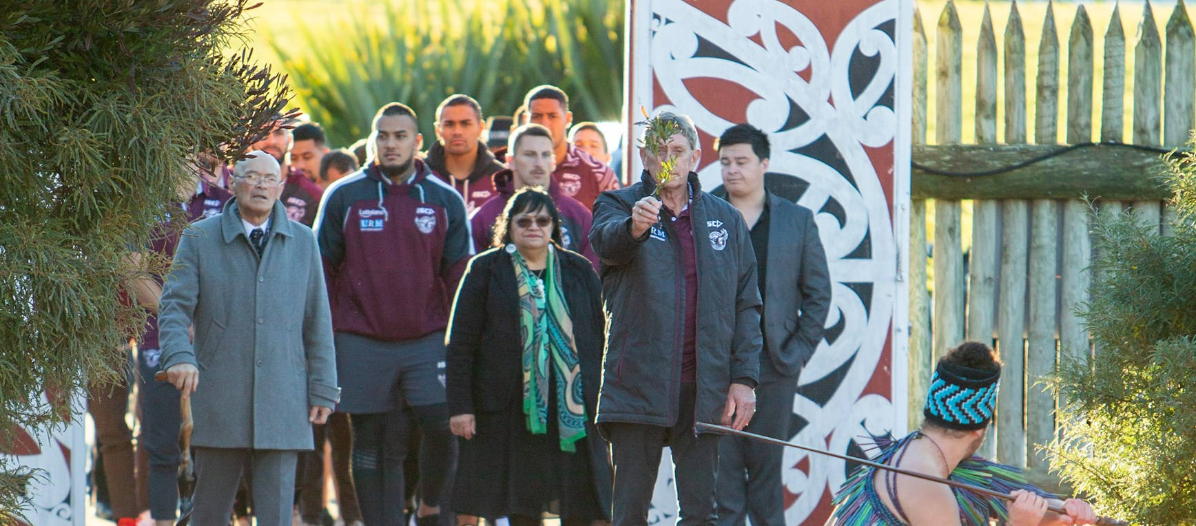Manly receive warm welcome to Christchurch