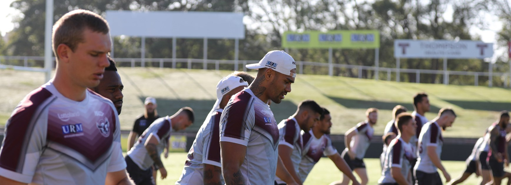 Sea Eagles squad trimmed for Raiders clash