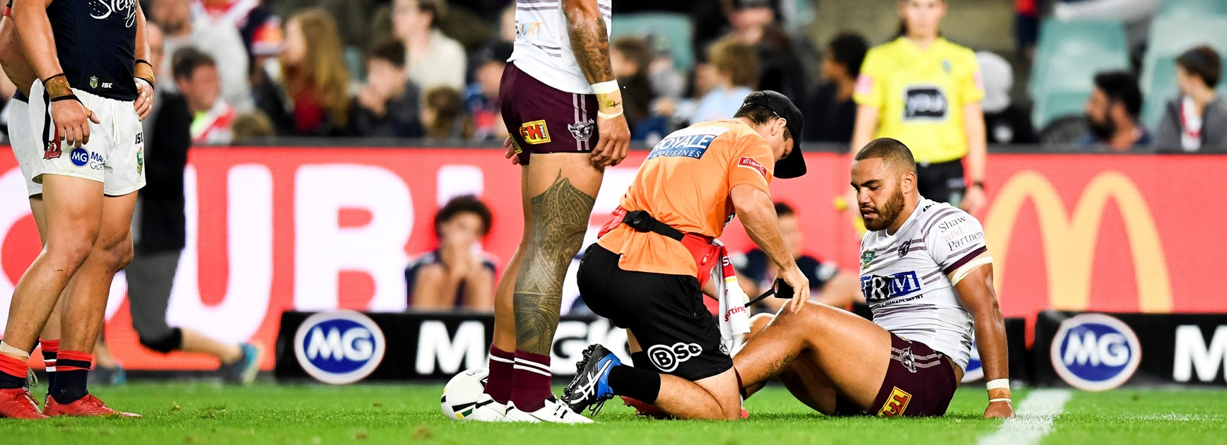 Injury Update - Dylan Walker