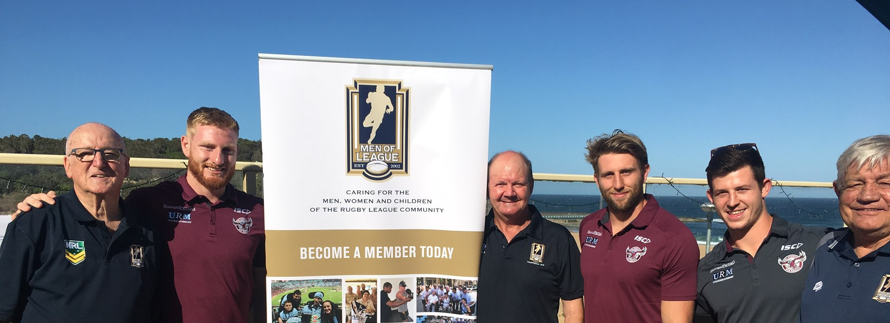 Sea Eagles proud to support Men of League Christmas event