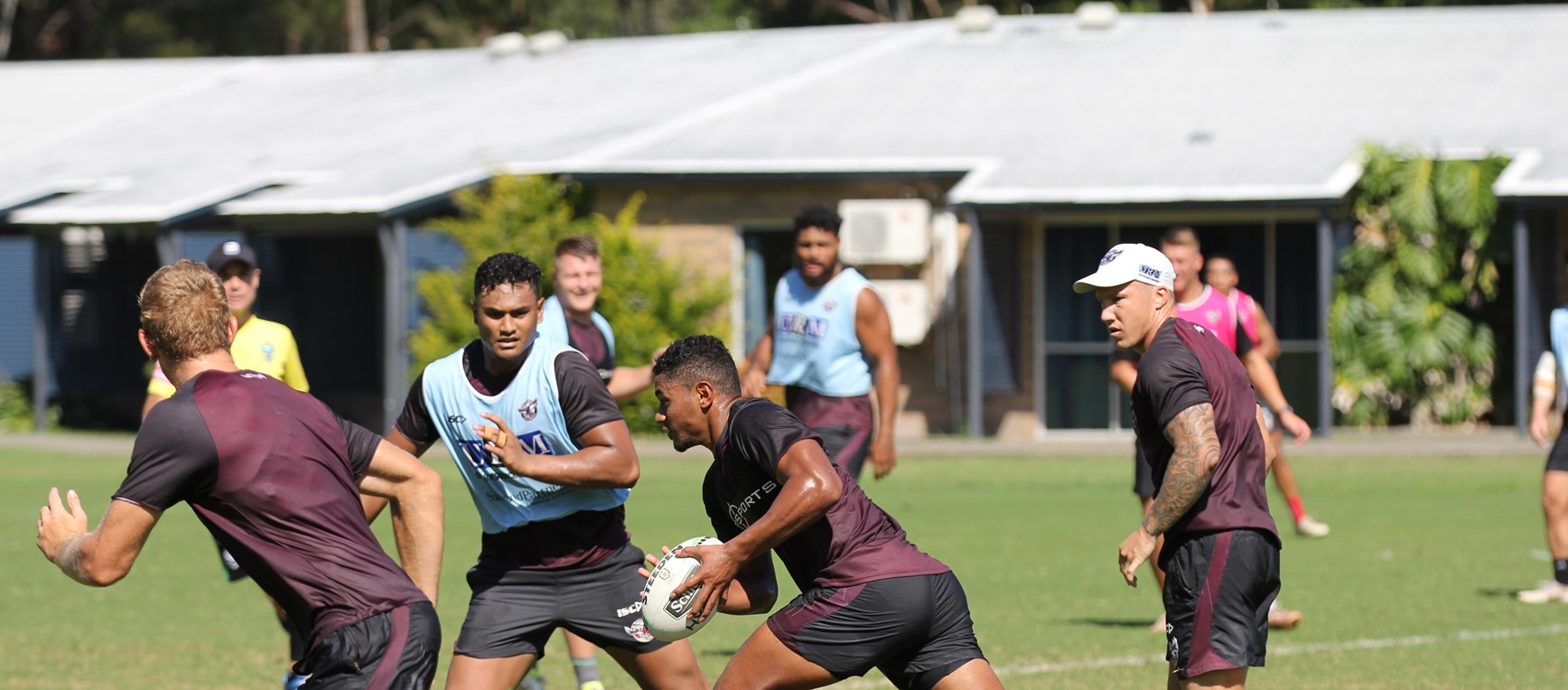 Sea Eagles ripping into training