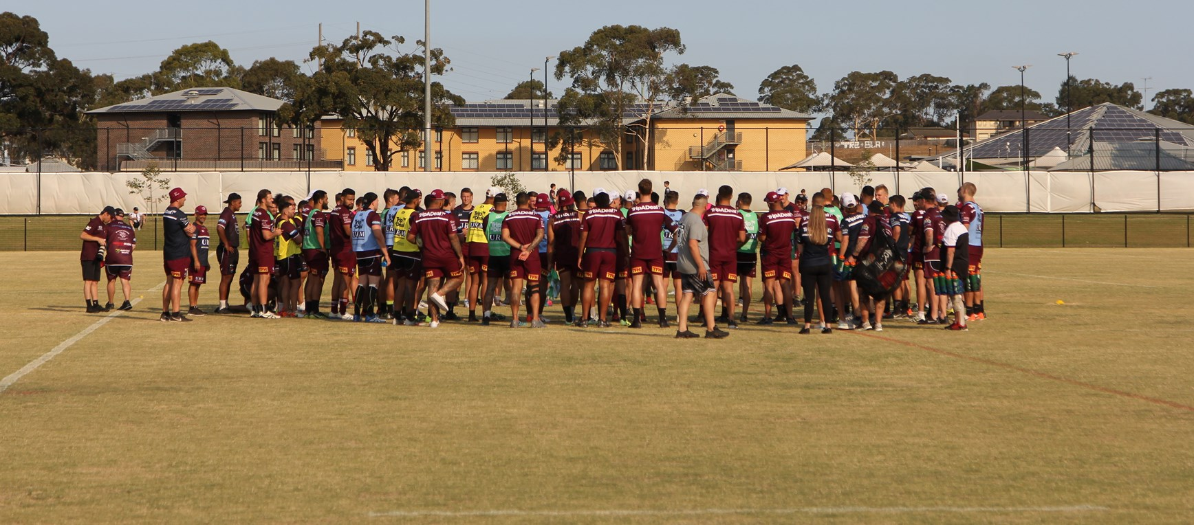 Sea Eagles open training session at Blacktown