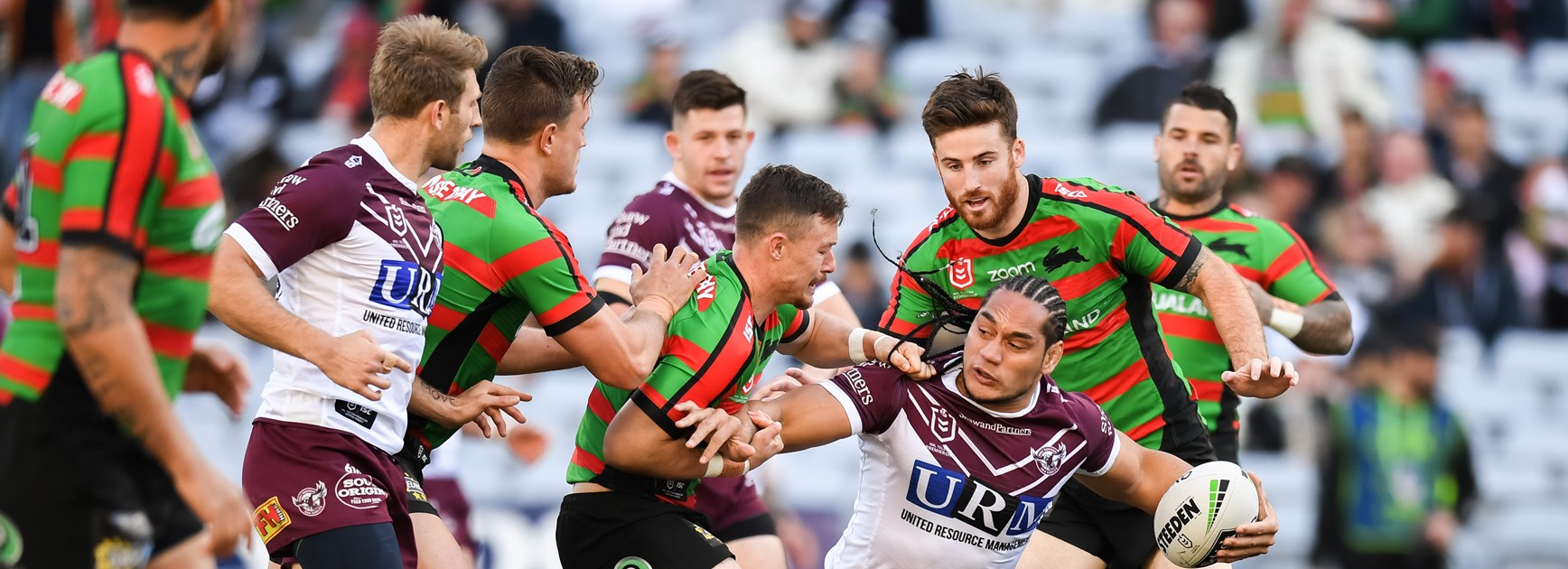 Sea Eagles go down by one to Souths