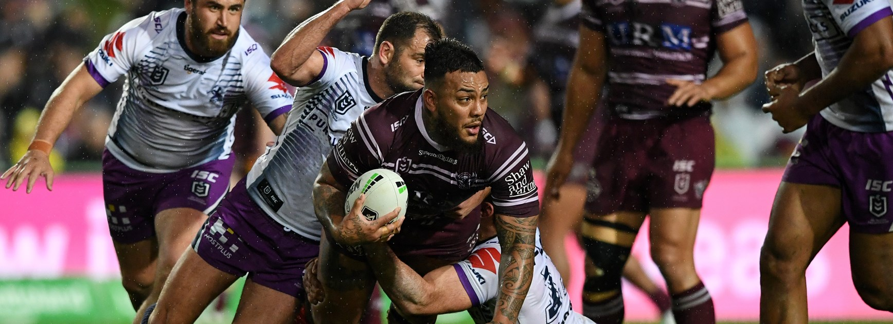 Sea Eagles go down to Storm at Lottoland
