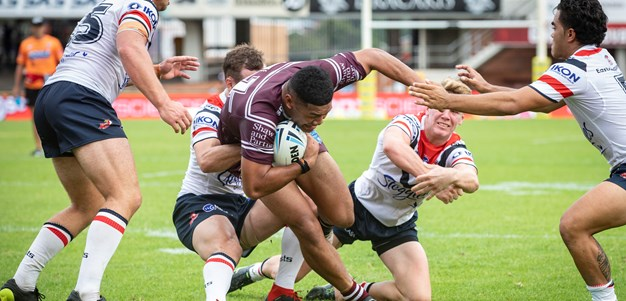 Sea Eagles go down to Roosters in Jersey Flegg