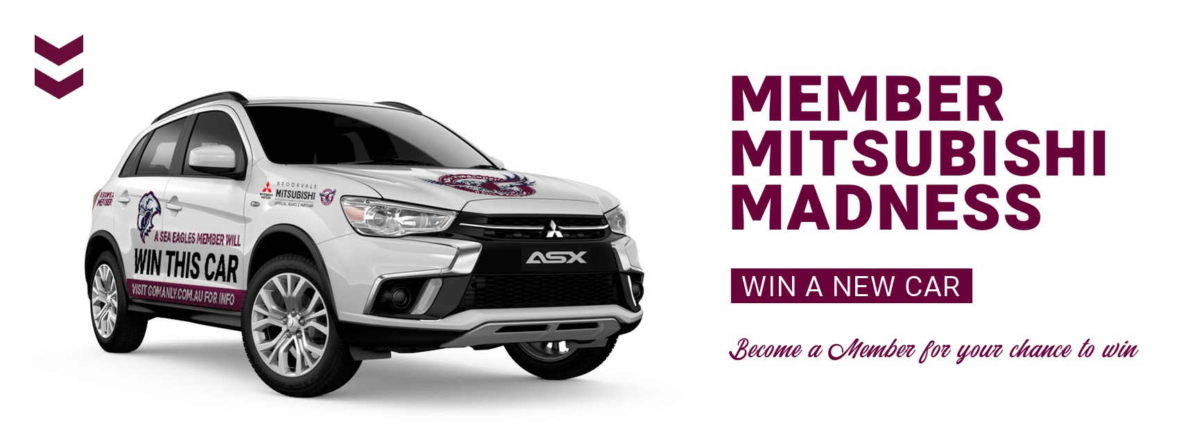 A Sea Eagles member will WIN THIS CAR!