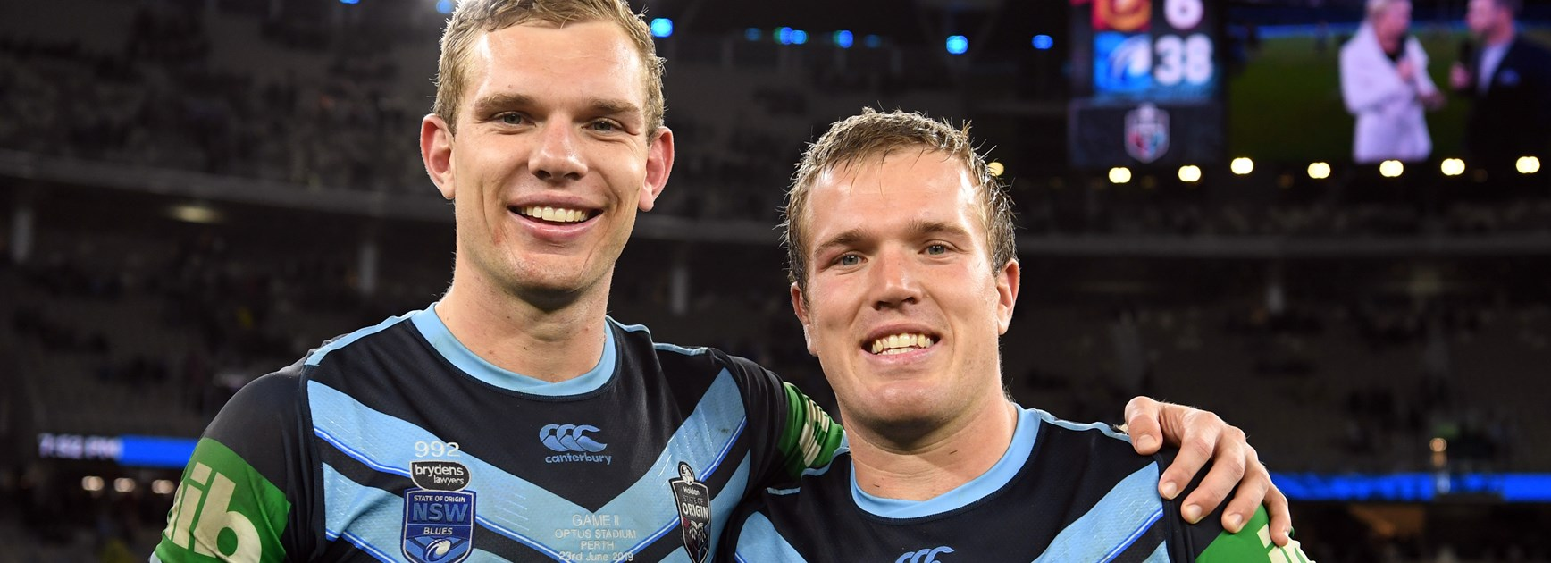 Trbojevic brothers ready for Origin 3