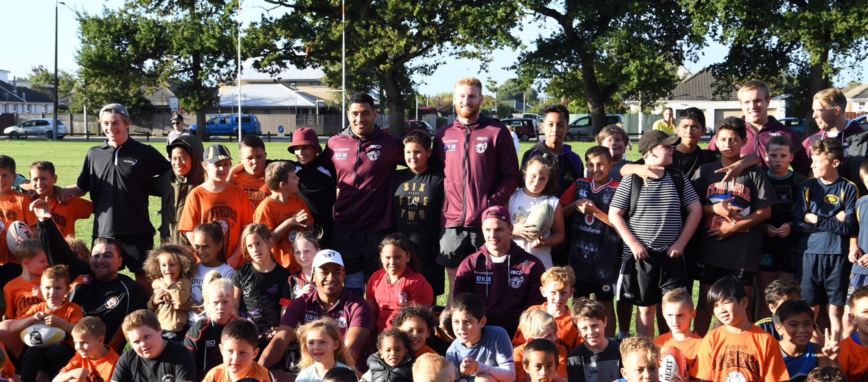 Sea Eagles visit Papanui Tigers