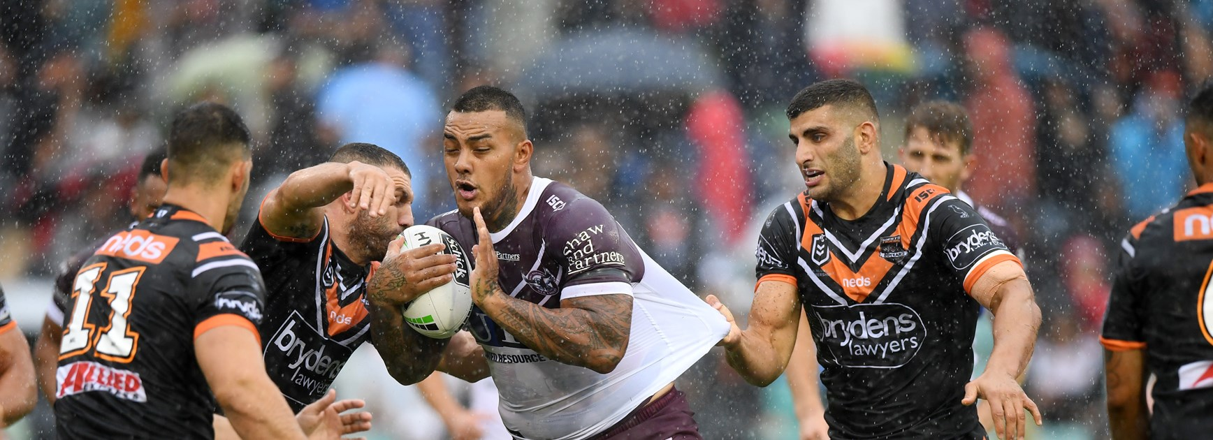 Robbie and Benji turn back the clock as Tigers tame Manly