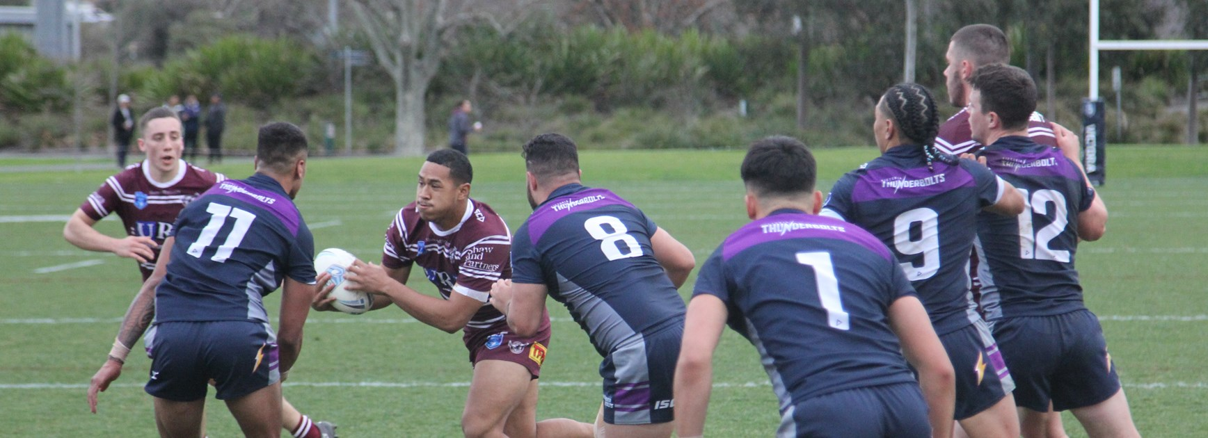 Sea Eagles go down to Thunderbolts in Jersey Flegg