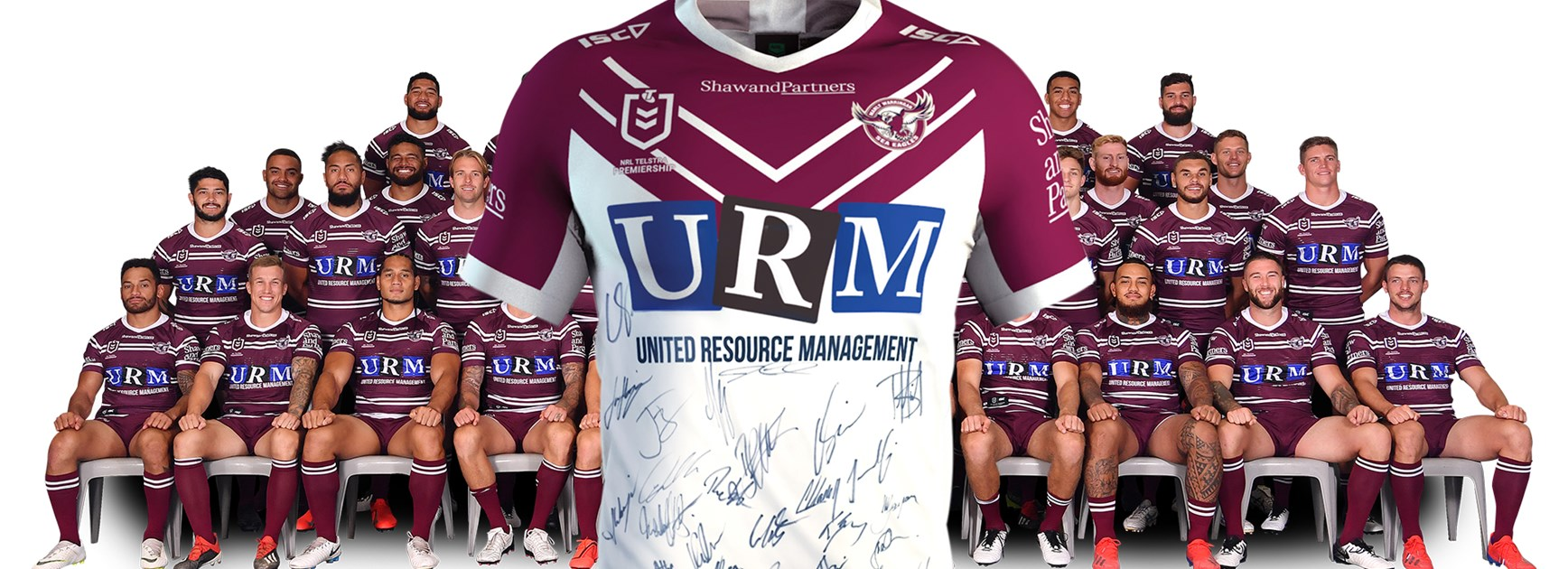 Win a signed 2019 Sea Eagles Away Jersey