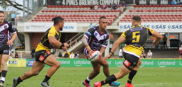 Rd 1 pics: Blacktown Workers Sea Eagles v Mounties