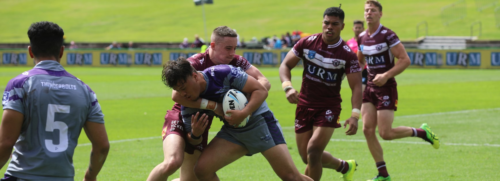 Sea Eagles beat Thunderbolts in season opener