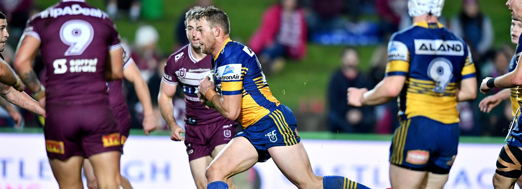 Sea Eagles sign forward Andrew Davey
