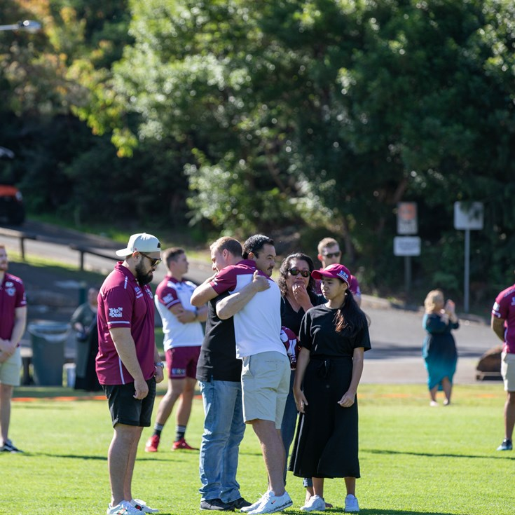 Sea Eagles honour Keith Titmuss with Memorial Service