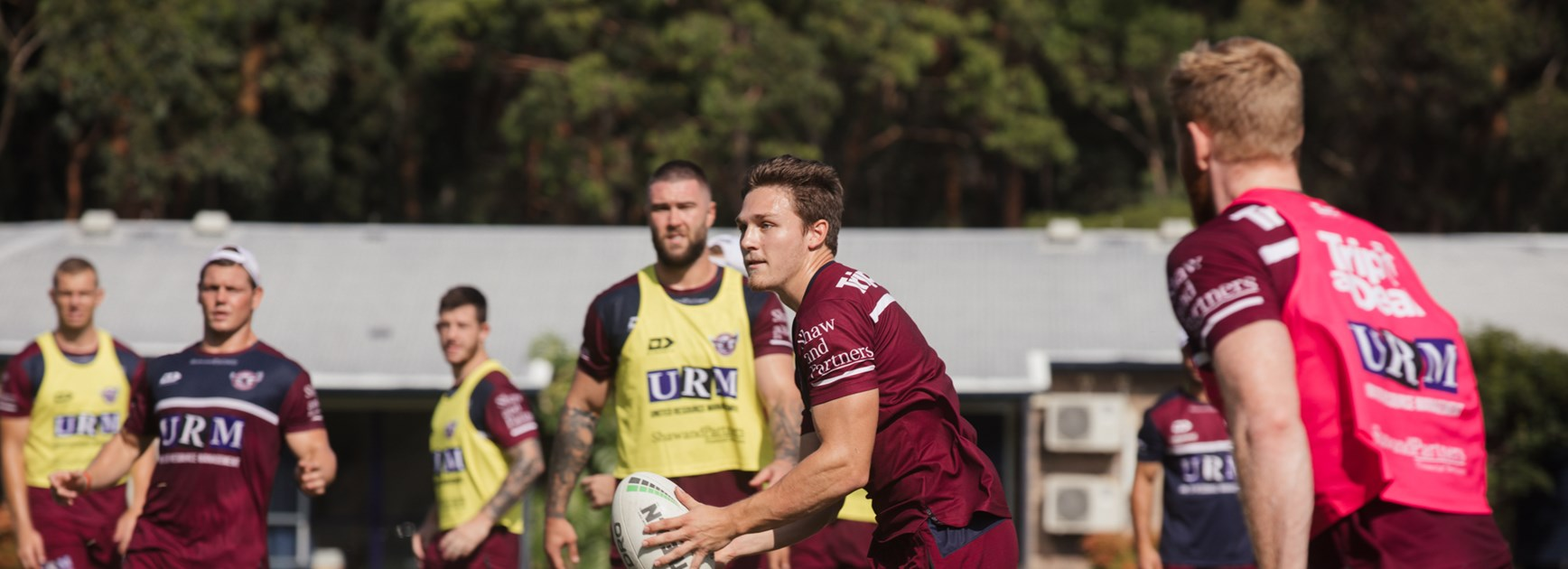 Sea Eagles team to play Sharks in NRL trial
