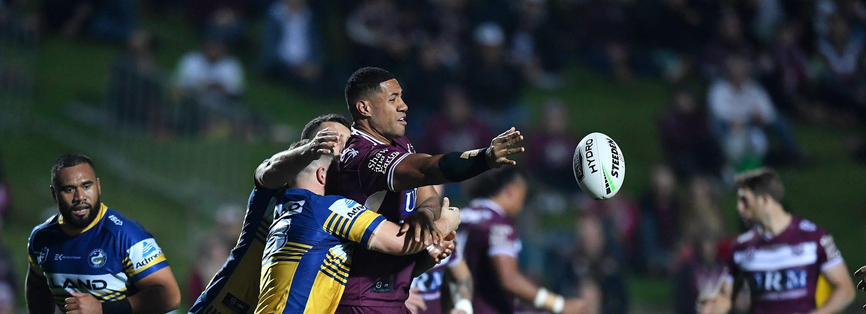 Sea Eagles record solid win over Eels at Lottoland