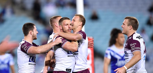 Sea Eagles end losing streak with win over Bulldogs