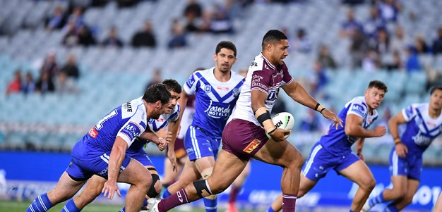 Rd 18 Best pics: Sea Eagles vs Bulldogs