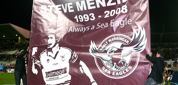 The Night the Sea Eagles Farewelled Steve Menzies