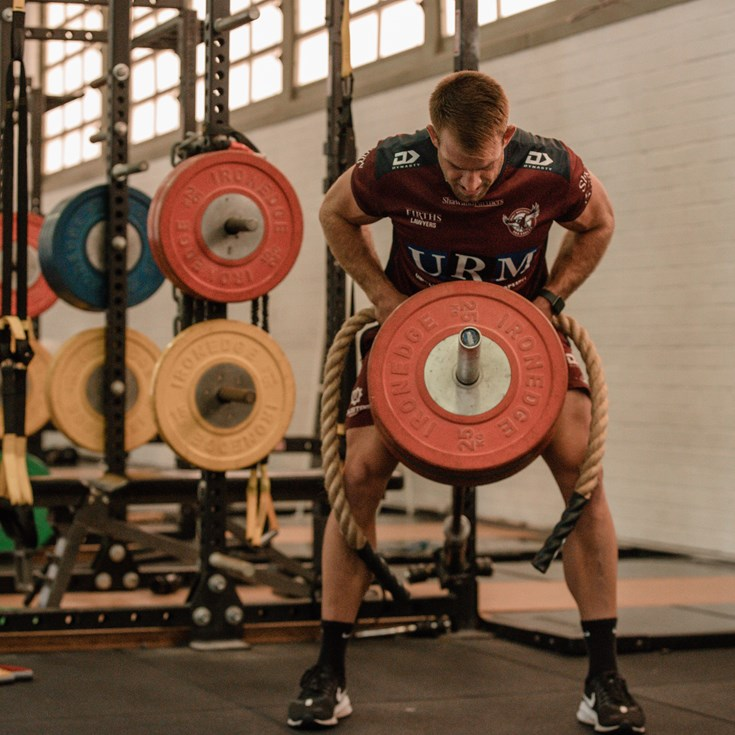 Best pics: Sea Eagles training January Week 3