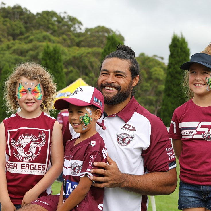Sea Eagles open session at Glen Willow Stadium