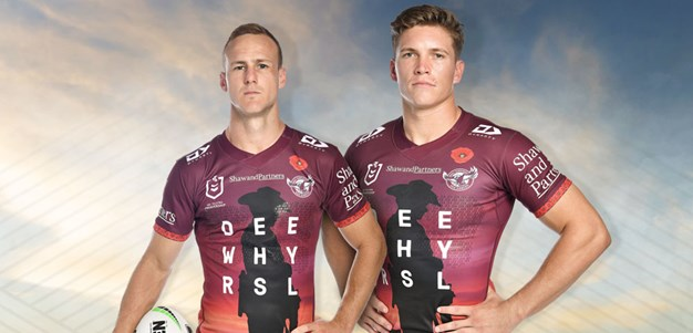 Sea Eagles launch Dee Why RSL ANZAC jersey