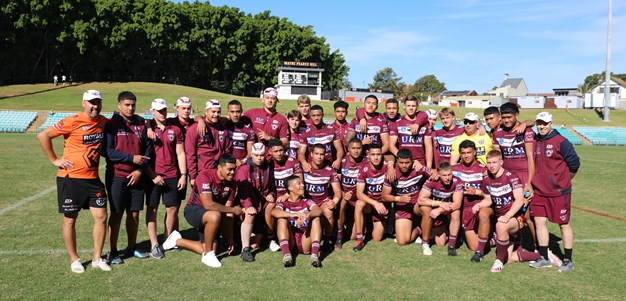 Sea Eagles team to play Eels in Grand Final