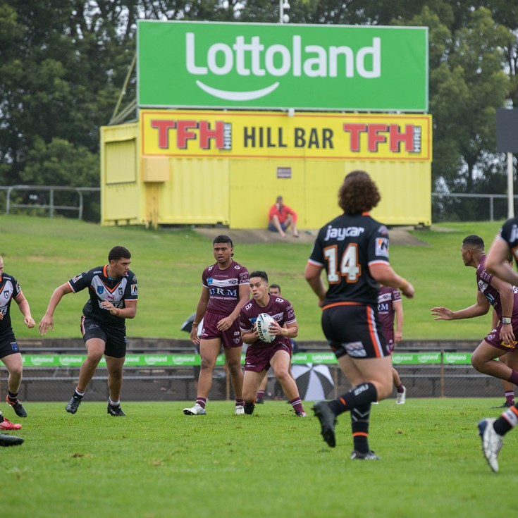 Sea Eagles fight hard to beat Magpies at Lottoland