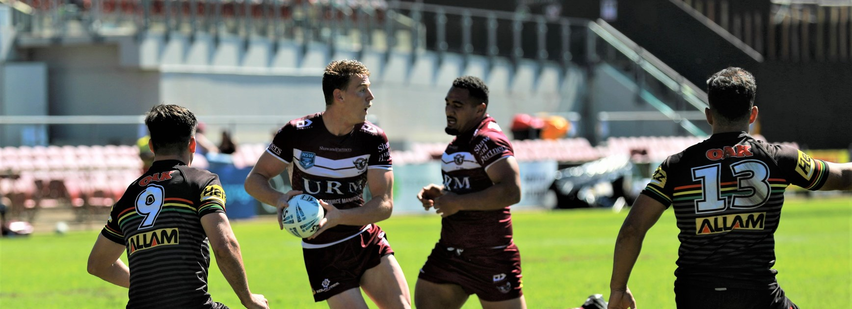 Sea Eagles team to play Thunderbolts