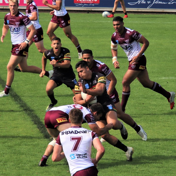 Sea Eagles lose to Panthers in Jersey Flegg