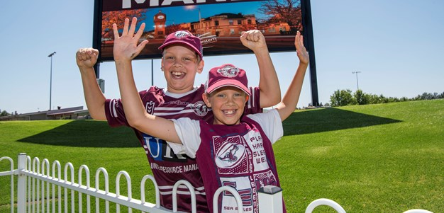 Sea Eagles get first look at Mudgee venue