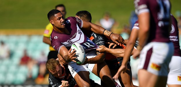 Sea Eagles go down to Wests Tigers in NRL trial