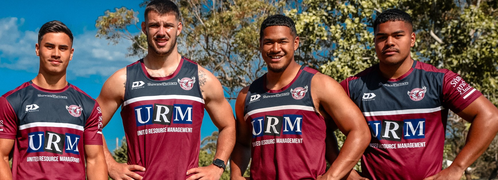 Young Sea Eagles develop their skills with NRL squad