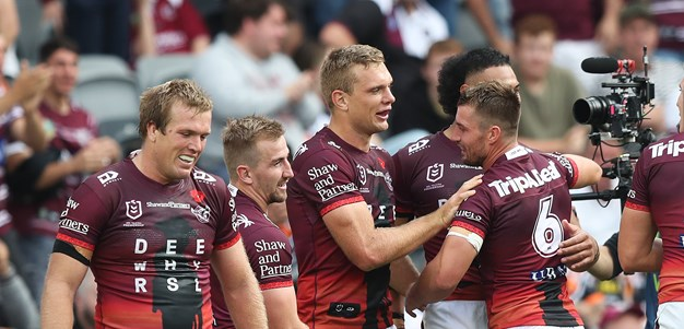 Sea Eagles carve up Tigers at Bankwest