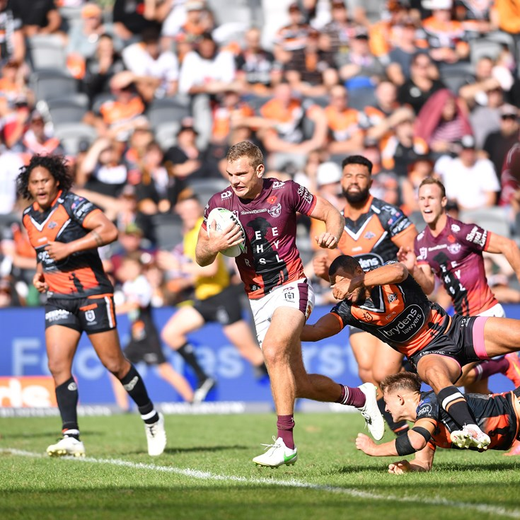 Turbo power and Daly double way too much for Tigers to handle
