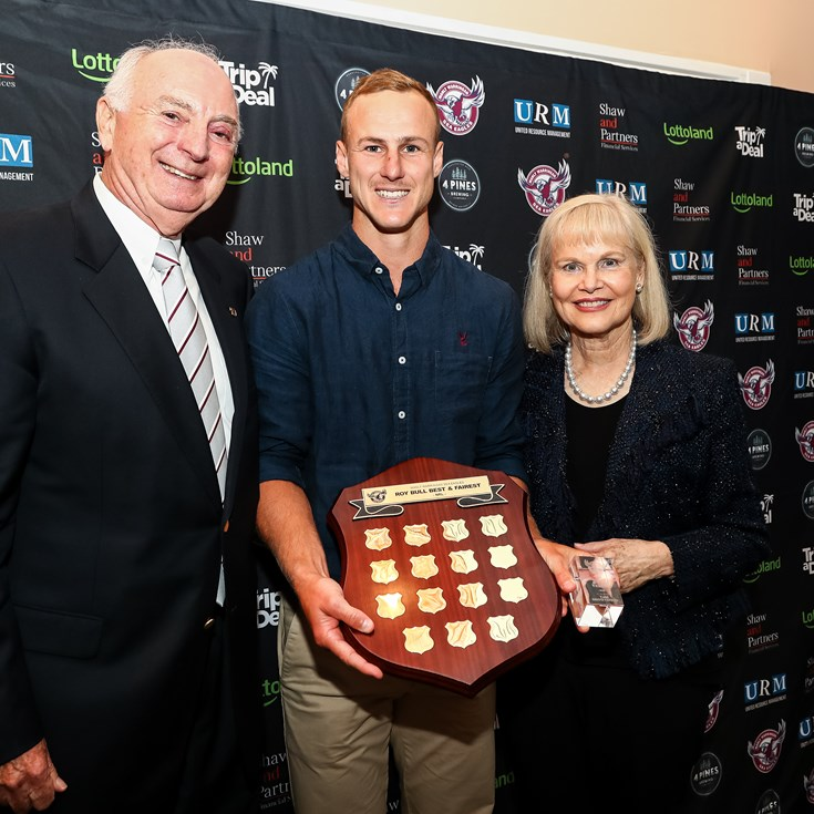 Daly Cherry-Evans wins Sea Eagles'  top award for 2020