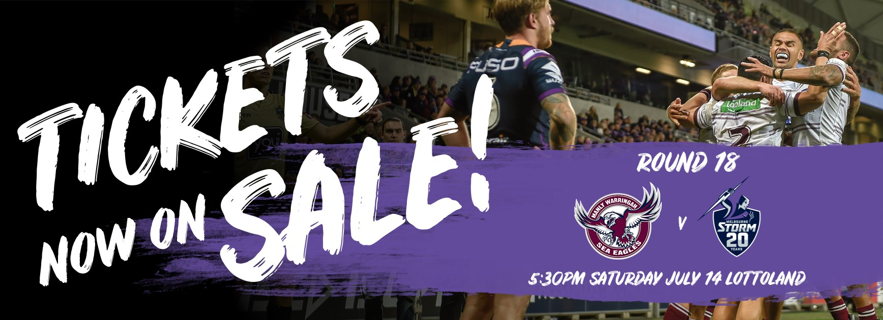 Tickets on sale for Storm clash